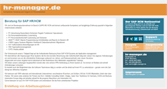 Preview of hr-manager.de