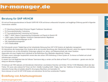 Tablet Preview of hr-manager.de